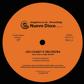 Los Charly&#8217;s Orchestra &#8211; Nuevo Disco EP (Cat Nr Imagenes005)